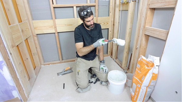 How to Mix Thin-Set for Wet Shimming