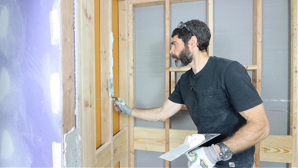 How to Wet Shim Walls with Thin-Set