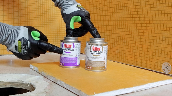 Oatey PVC Primer and Cement