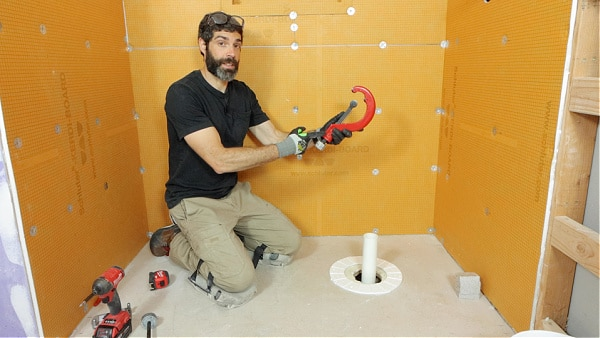 Reed PVC Pipe Cutter for Showers