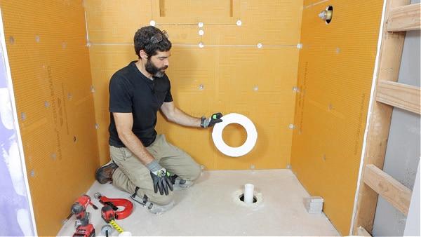 Schluter Shower Tray Foam Spacer