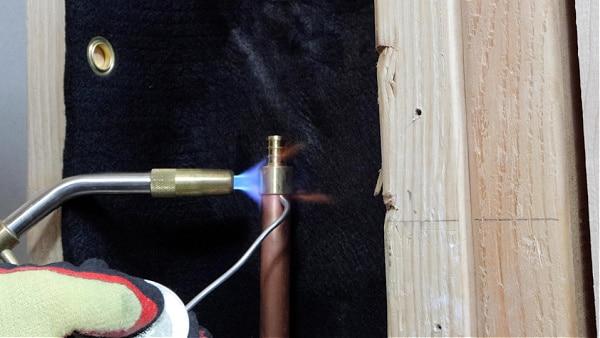 Soldering Copper PEX Adapters